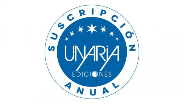 Suscripción anual a Unaria ediciones